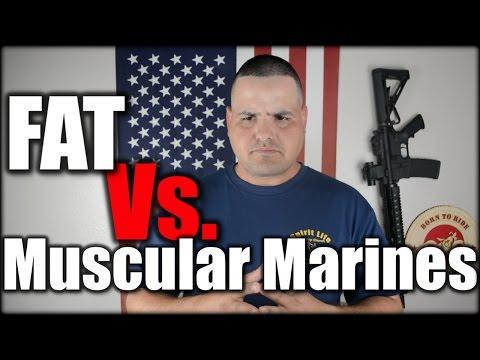 FAT Vs. Muscular Marines!