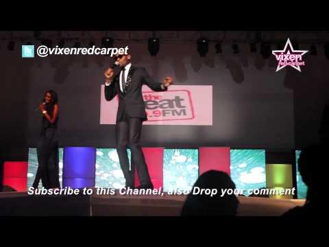 Vixen Red Carpet: Dbanj & Tanzania Super Model Millen Host Music Meets Runnway 2012