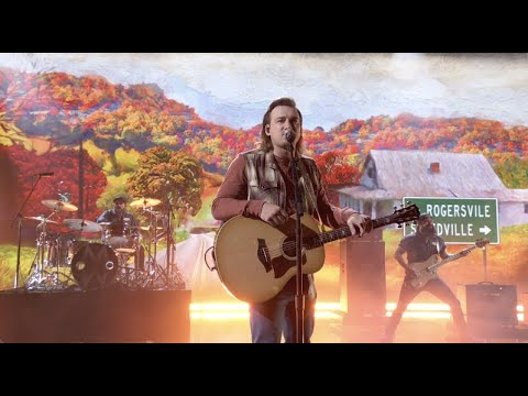 "Morgan Wallen – ""More Than My Hometown"" (CMA Awards 2020)"