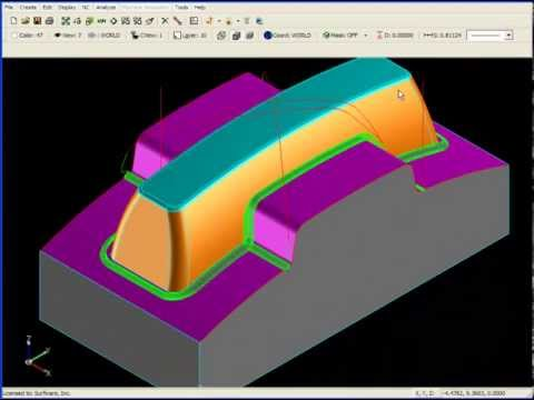 SURFCAM Tutorial - 3-Axis: Rest Machining