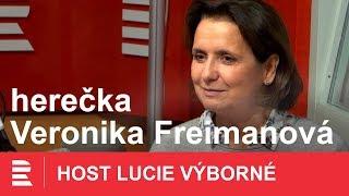 Veronika Freimanová: Z Vyprávěj jsem byla vykulená. Pro určitou generaci jde o učebnici dějepisu