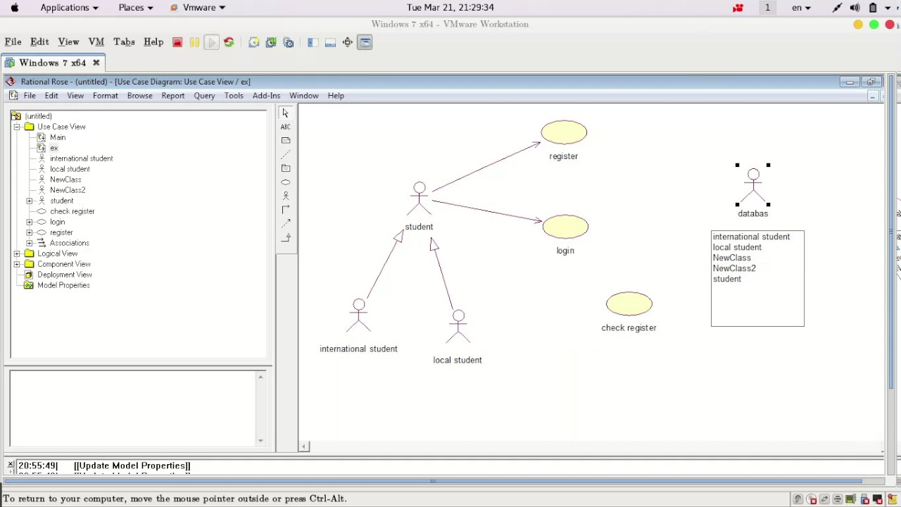 1 create usecase diagram with rational rose - How To Draw Use Case Diagram In Rational Rose