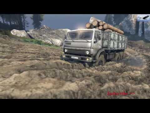 รถบรรทุก 10 ล้อ Truck 10 wheels. (Realistic)