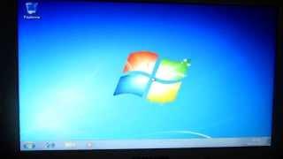 видео Инструкция как установить WINDOWS 7 с флешки на ноутбук на примере  ACER PB ENTE69