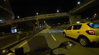 Motovlog #6 Ali ile Kadıköyden Beşiktaşa iki Motor Gece Yarısı Dolaşmaca