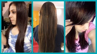 7th Time Hair Rebonding  Experience| Rebond & coloured hair Care Tips| Fitness And Lifestyle Channel