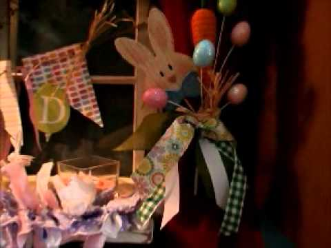 Home tour: Easter Decorations Spring 2015