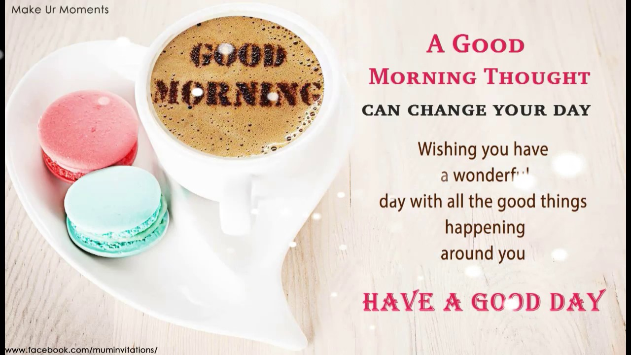 Good Morning Quotes Greetings Wishes Youtube