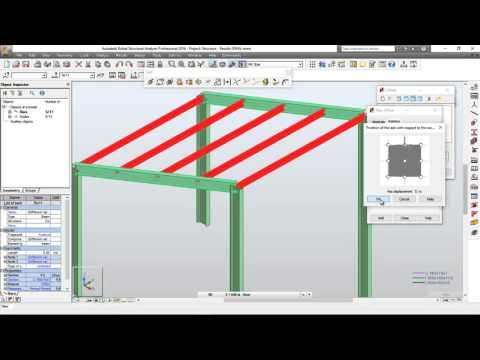 Autodesk Robot Structural Analysis and Design (1 / 2) (Steel Design)
