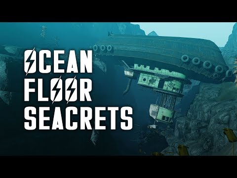 Ocean Floor Seacrets - Let's Explore the Ocean Floor of Fallout 4