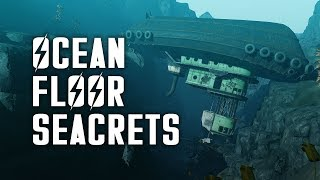 Ocean Floor Seacrets - Let s Explore the Ocean Floor of Fallout 4