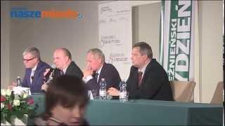 Gniezno: Debata parlamentarna na senatorów [WYBORY PARLAMENTARNE 2015]