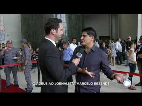 César Filho relembra o início da carreira de Marcelo Rezende