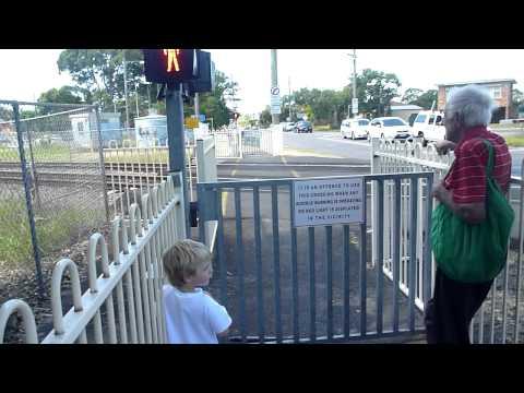 Train Crossing Woy Woy Part 2