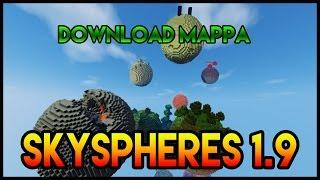 """Come Scaricare la Mappa """"SKYSPHERES"""" (Surreal) per Minecraft Ultima Versione!"""