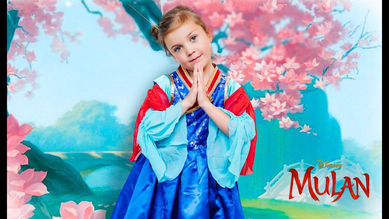 Stella wears a Mulan Costume!!!