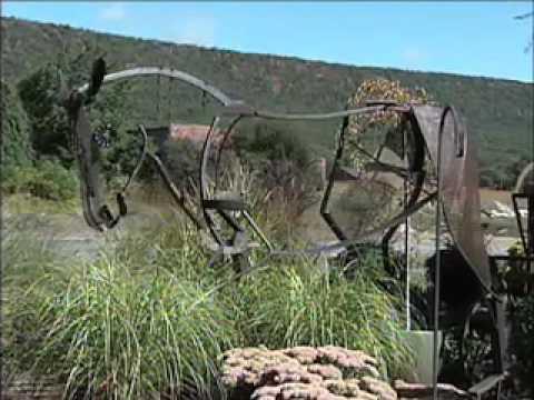 Lisa Fedon: Working in Steel Sculpture Creating Spirit to Inspire People