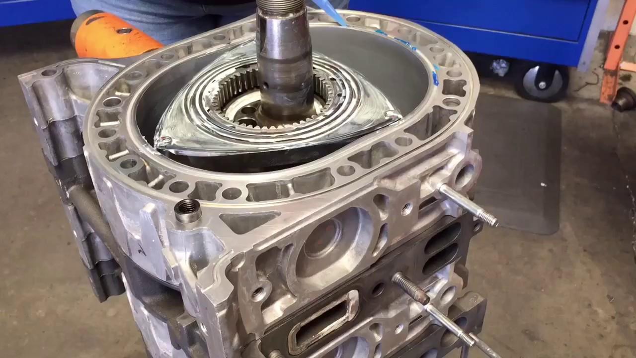 rx rotary engine rebuild youtube