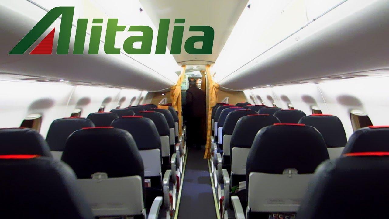 Trip Report Alitalia Cityliner E175 Rome Fco To