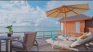 Sunset Over Water Suite – Anantara Dhigu Resort Maldives