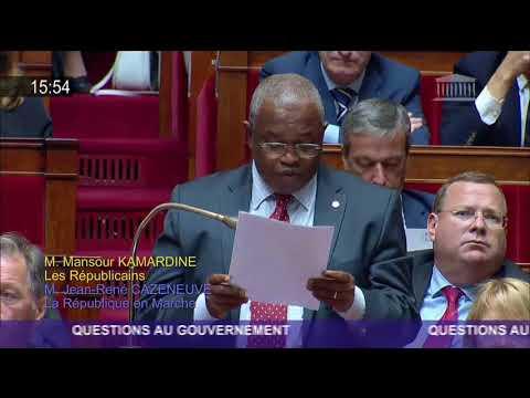 Question de Mansour Kamardine sur la sécurité à Mayotte