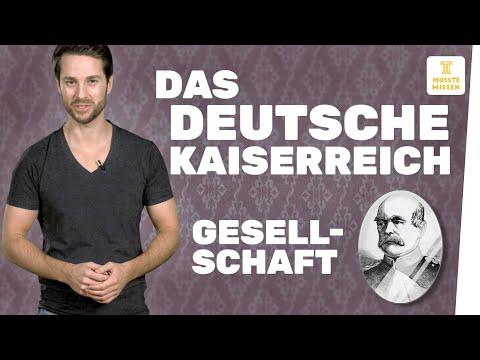 Gesellschaft im Deutschen Kaiserreich I musstewissen Geschichte
