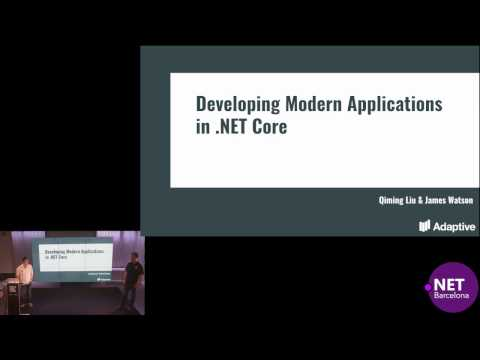 Developing Modern Applications in .NET core with Docker and Kubernetes