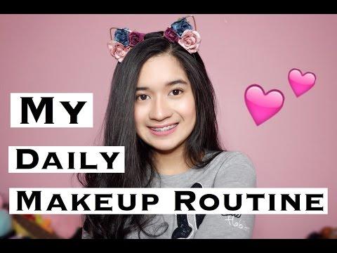 Daily Makeup Routine   Clara Haniyah