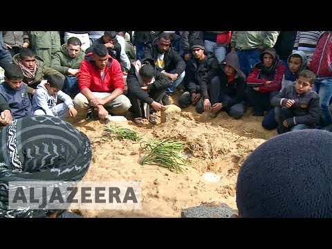 Funerals held for Palestinian teenagers killed by Israel