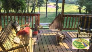 Home and Land for Sale - Conway, Arkansas - 158 Acres -  Cascade Mountain Retreat Video