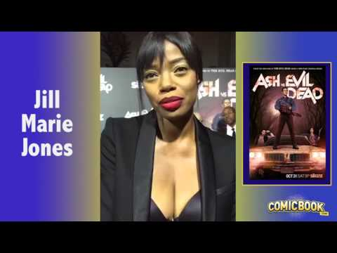 Jill Marie Jones On Ash Vs. Evil Dead Red Carpet