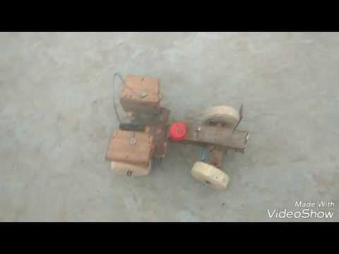 How to make tractor in home
