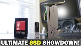 Whats the Best Type of SSD Drive? PCI-E 3.0 vs M.2 vs SATA 3