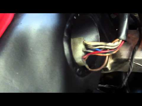 Kawasaki ZX7 Infamous Grey Wire Voltage Check - YouTube on