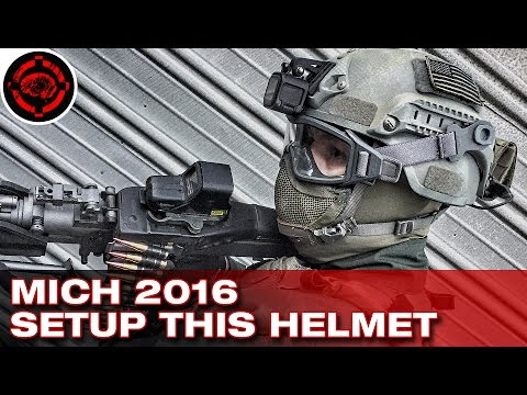 Modernizing the MICH 2000 Full Airsoft Helmet Build