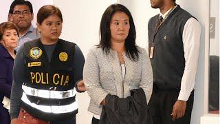 Pérou : arrestation de Keiko Fujimori, opposante et fille de l'ex-président
