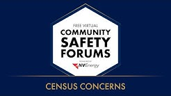 Virtual Community Safety Forum: Census Concerns