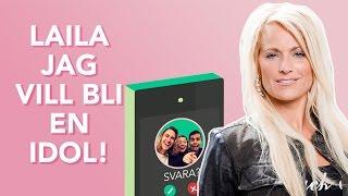 Busringning   Hampus sjunger för Laila Bagge