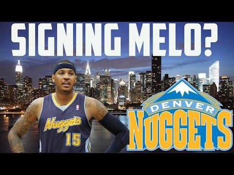 NBA 2K16 MyGM Mode | Denver Nuggets | Signing Carmelo Anthony?! | Melo Returns To Denver?