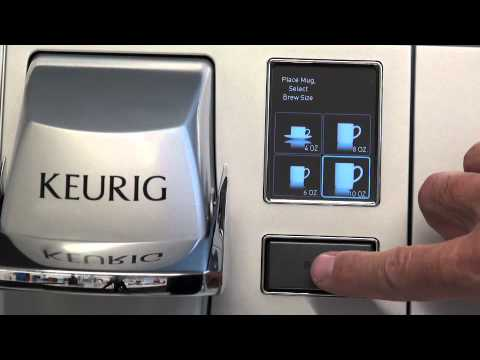 How To Descale A Keurig 174 B155 Brewing System Youtube