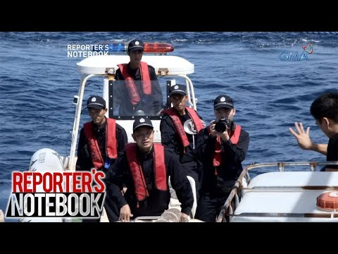 'Reporter's Notebook' team, pinagbawalan ng China Coast Guard na magdokumento sa Scarborough Shoal