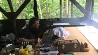 Alexander Henry 8b Double Rifle - Left Barrel Shot 23 Aug 2014