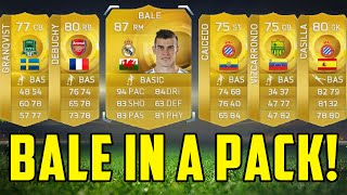 BALE IN A PACK TWICE!!! 100K PACKS!! FIFA 15 ULTIMATE TEAM PACK OPENING! Thumbnail