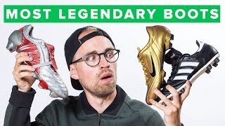 Top 5 iconic football boots