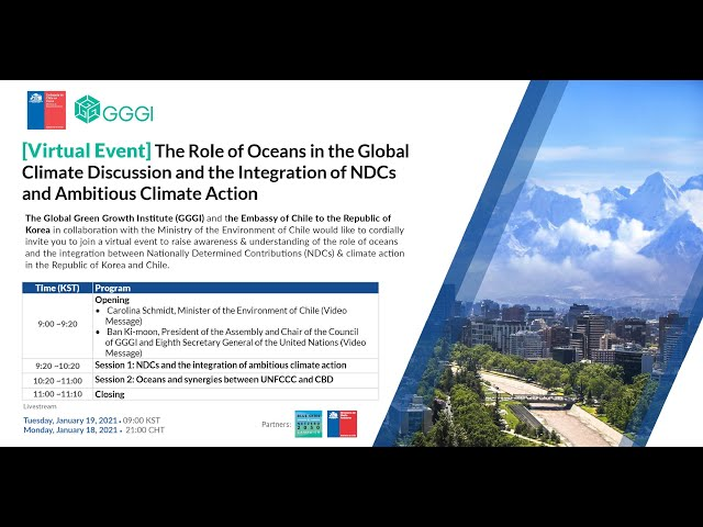 [Virtual Event] The Role of the Oceans in the Global Climate Discussion