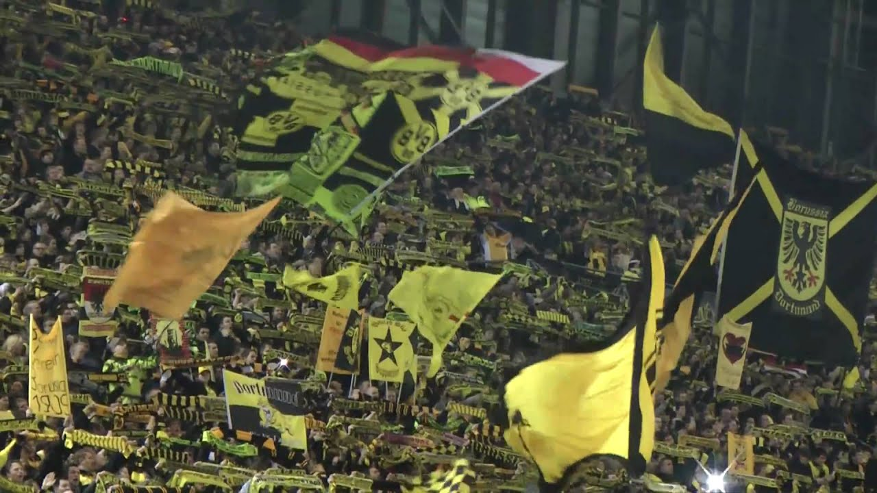 "Dortmund - Hamburg You""ll Never Walk Alone Borussia BVB - HSV 2-0 YNWA"