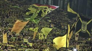 Dortmund - Hamburg You'll Never Walk Alone Borussia BVB - HSV 2-0 YNWA ドルトムント
