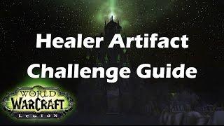 [Legion] Healer Artifact Challenge Guide, Holy Priest