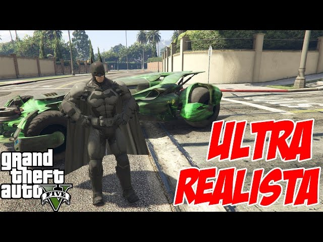 Ultra Realista Batman Mod