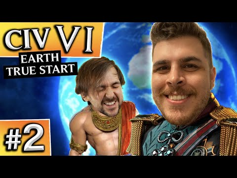 Civilization VI: Earth True Start #2